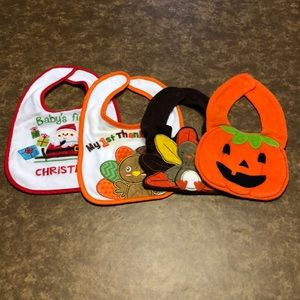 Holiday Theme Bibs (#3444)